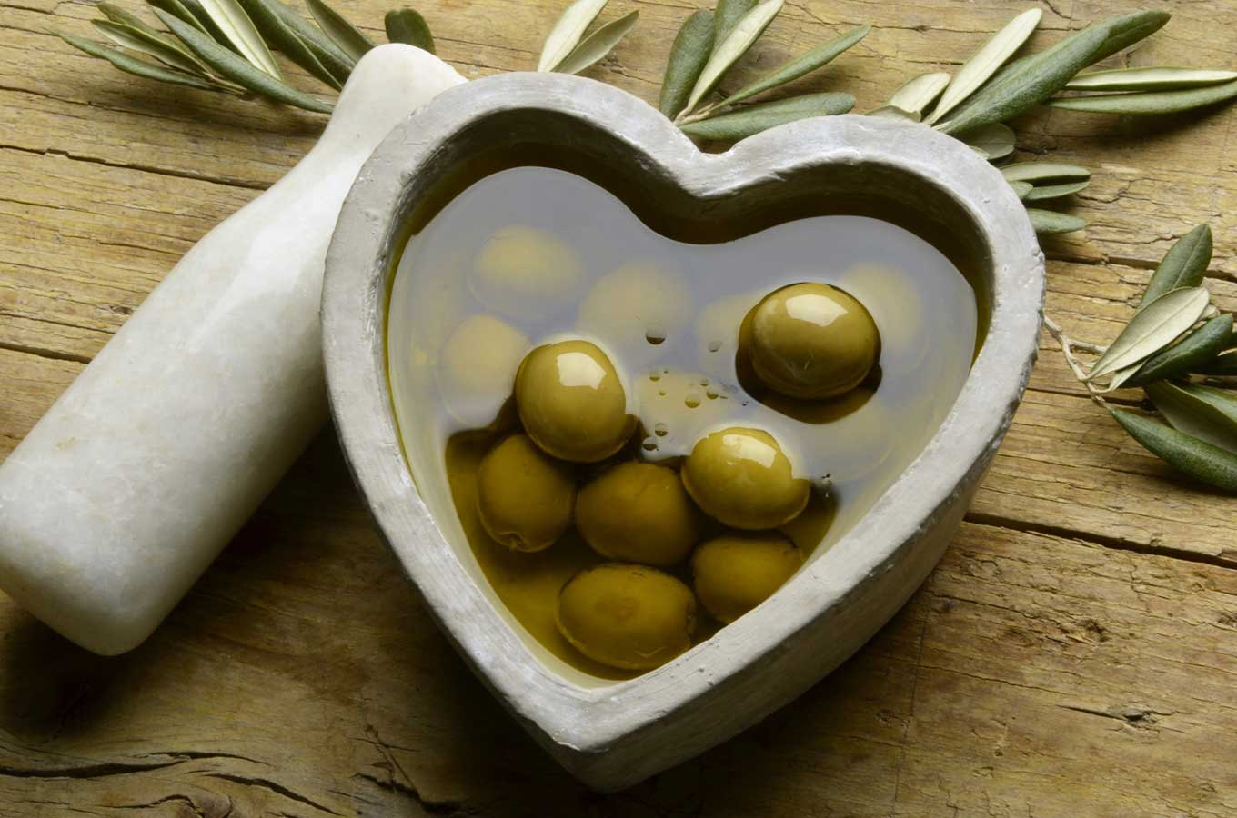 The Greek EVOO acts like medicine, as shown by the first two studies
