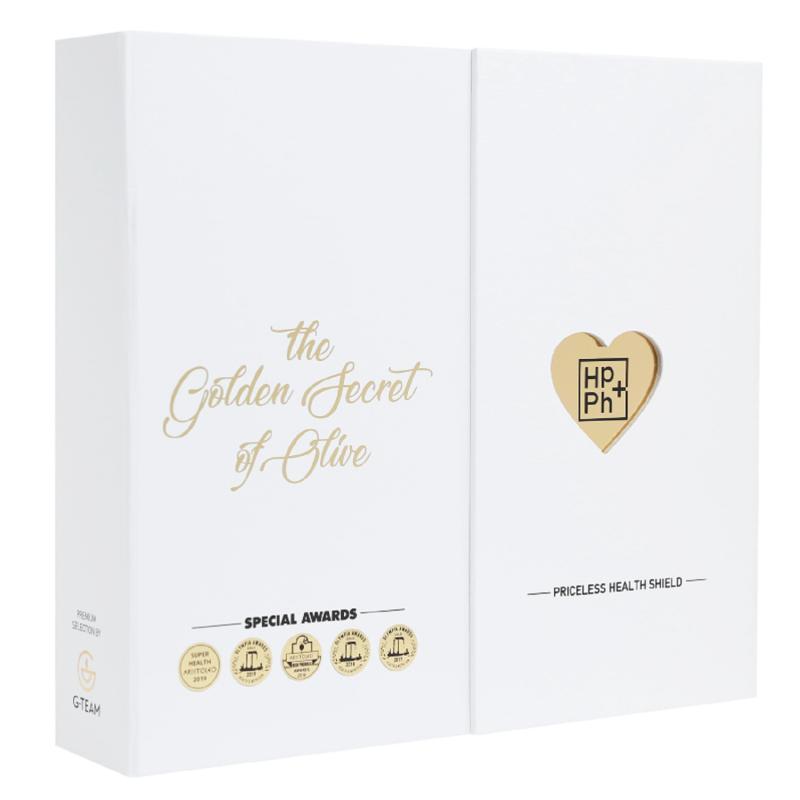 <center>''Τhe Golden Secret of olive''</center><center>Ένα Δώρο Ζωής,</center><center>για εσάς και τους αγαπημένους σας.</center><center>(2 x Ultra Gold)</center>